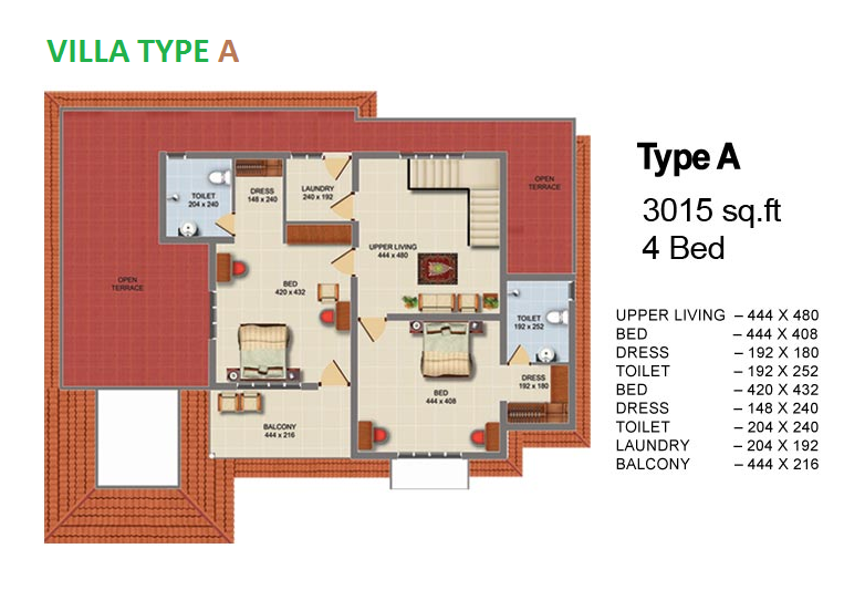 3bhk flats in thrissur