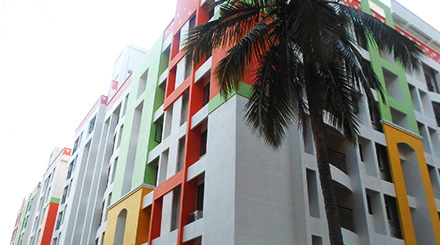 Beautiful Ongoing Flats in Thrissur