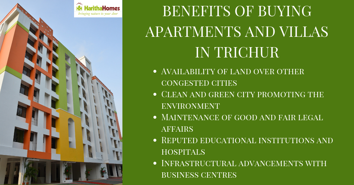 apartments and villas in Trichur