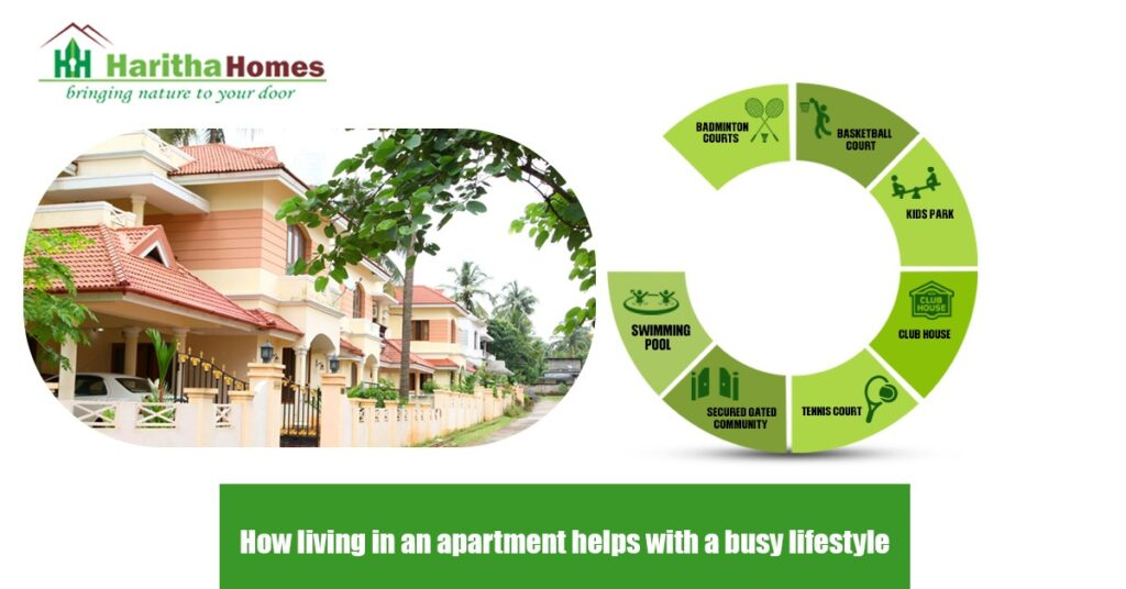 Apartment living helps to maintain your quality of living in busy schedule. Own apartments in Thrissur from Haritha homes. Haritha provide flats & apartments with all conveniences in Thrissur prime location.
