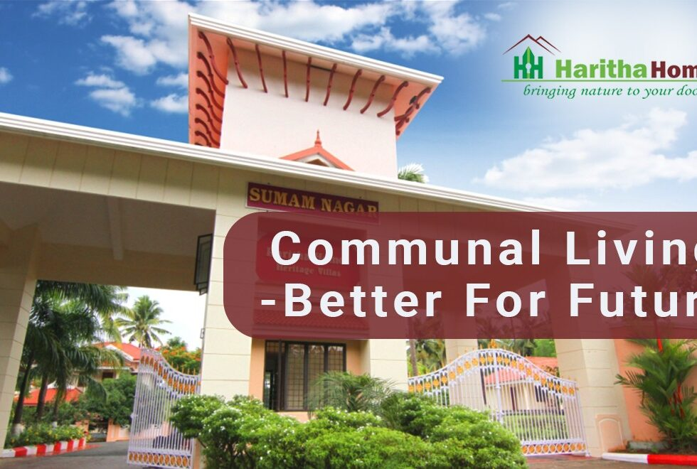 Gated community living apartments in Thrissur. Haritha homes